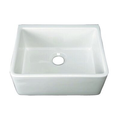 Brooke 24 x 18 Single Bowl Farmer Kitchen Sink