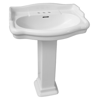 Stanford 660 26 Pedestal Bathroom Sink