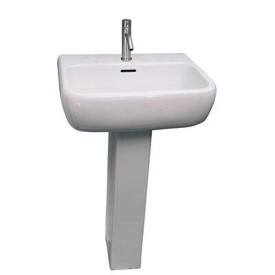Metropolitan 520 21 Pedestal Bathroom Sink
