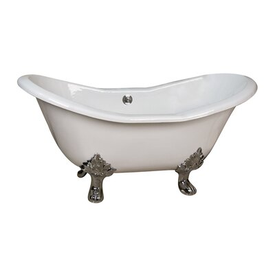 Marshall 71 x 30 Soaking Bathtub Finish: Unfinished