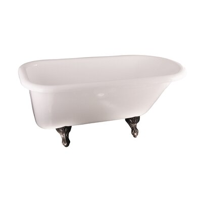 Anthea 60 x 30 Soaking Bathtub Finish: Oil Rubbed Bronze