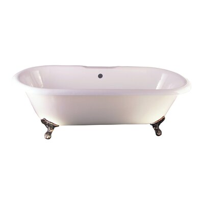 Duet 67 x 31 Soaking Bathtub Kit Finish: Oil Rubbed Bronze