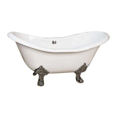 Marshall 71 x 3.5 Soaking Bathtub Finish: Polished Nickel