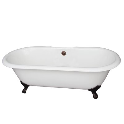 Duet 60.75 x 31 Soaking Bathtub Finish: Oil Rubbed Bronze