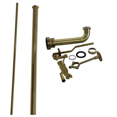 Pull Chain Toilet Trim Kit Finish: Polished Brass