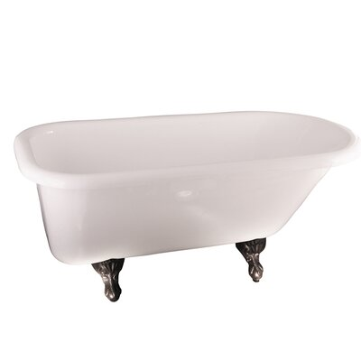 Asia 67 x 29.5 Soaking Bathtub Finish: Oil Rubbed Bronze