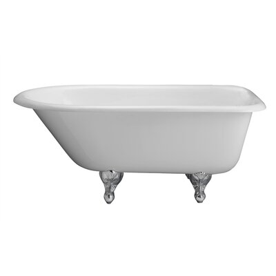 Anthea 60 x 30 Soaking Bathtub Finish: Polished Chrome