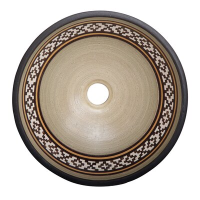 Fango Circular Vessel Bathroom Sink