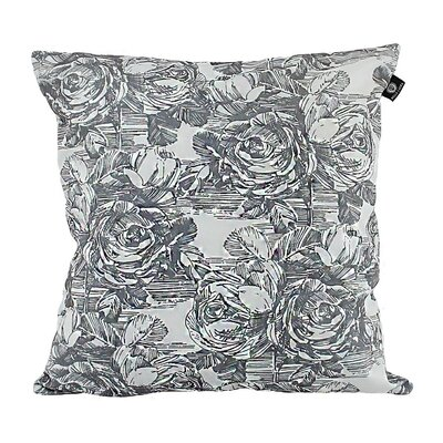 Keeso Cotton Pillow Cover Color: Light Gray