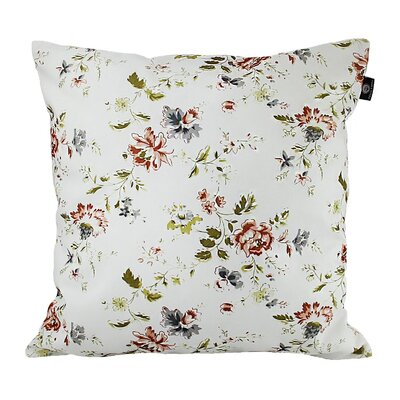 Jude Cotton Pillow Cover Color: Brown/Yellow/White