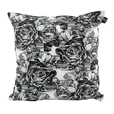Keeso Cotton Pillow Cover Color: Dark Gray