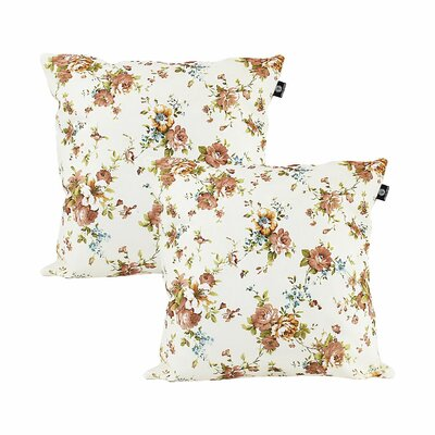 Darian Cotton Pillow Cover Color: Light Purple