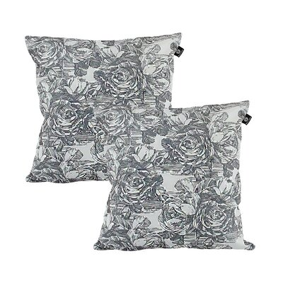 Larraine Cotton Pillow Cover Color: Light Gray