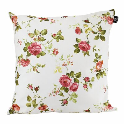 Brody Cotton Pillow Cover Color: Red