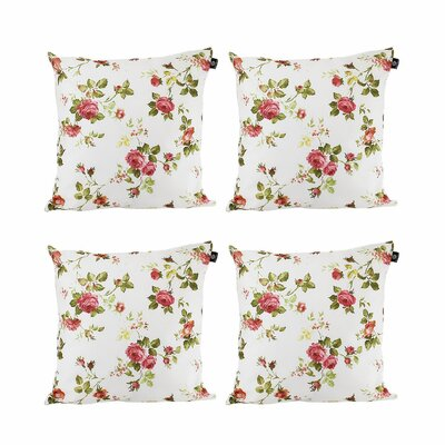 Anders Cotton Pillow Cover Color: Red/Green