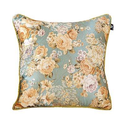 Delrick Flower Blossom Jacquard Pillow Cover