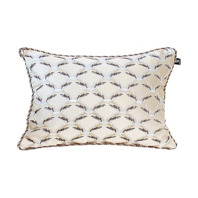 Delrick Traditional Jacquard Pillow Cover