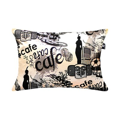 Breault Romantic City Cafe Pillow Cover