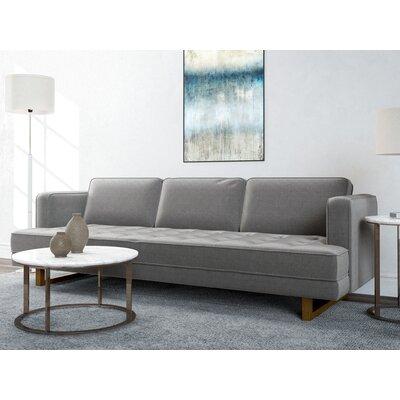 Waldrep Sofa Upholstery: Charcoal Gray