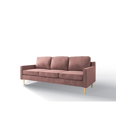 Bulkley Sofa Upholstery: Blush Pink