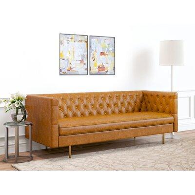 Middleborough Sofa Upholstery: Honey Tan