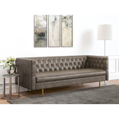 Middleborough Sofa Upholstery: Vintage Gray