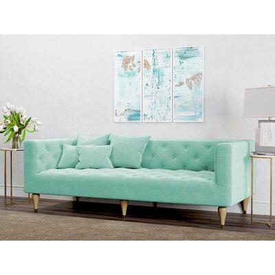 Dunkle Sofa Upholstery: Duck Egg