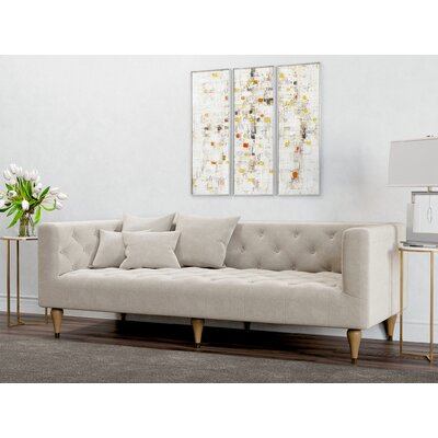 Dunkle Sofa Upholstery: Oatmeal