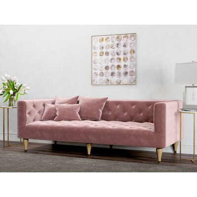 Welch Sofa Upholstery: Blush Pink