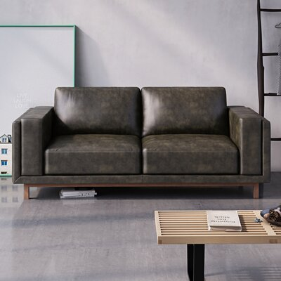 Walkerville Sofa Upholstery: Licorice Black