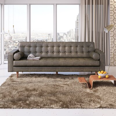 Wallace Way Sofa Upholstery: Licorice Black