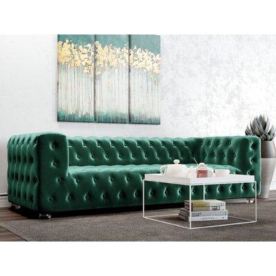 Whiten Sofa Upholstery: Emerald Green