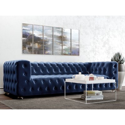 Whiten Sofa Upholstery: Royal Blue