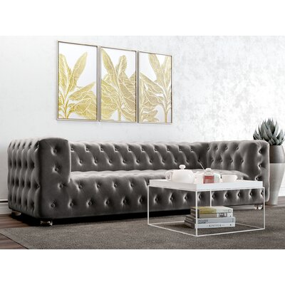 Christon Sofa Upholstery: Platinum
