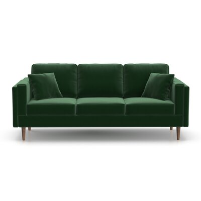 Dupree Sofa Upholstery: Emerald Green