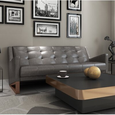 Donnell Sofa Upholstery: Vintage Gray