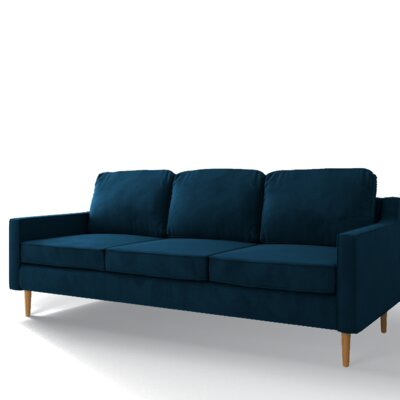 Pledger Sofa Upholstery: Royal Blue