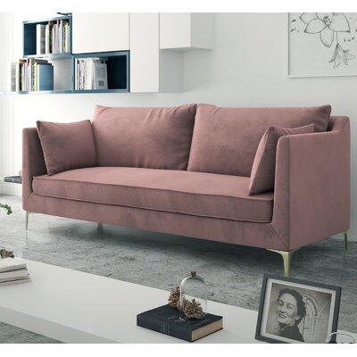 Dupuis Sofa Upholstery: Blush Pink