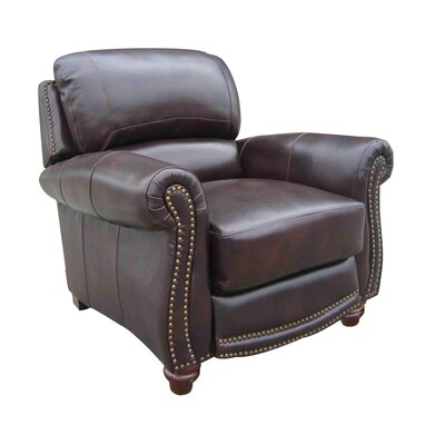 Dorcas Leather Manual No Motion Recliner