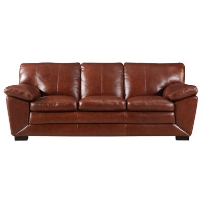 Arsneault Leather Sofa
