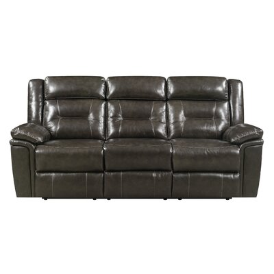 Marlink Leather Reclining Sofa