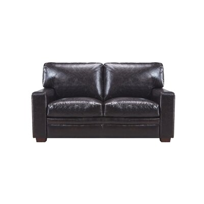 Cintia Leather Loveseat