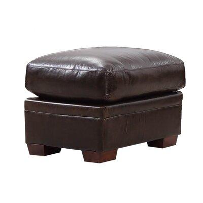 Cintia Leather Ottoman