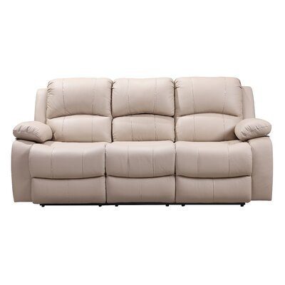 Timmerman Leather Reclining Sofa