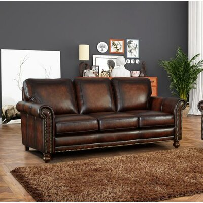 Cec�lia Leather Sofa