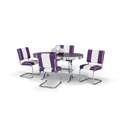 Chromcraft Retro Five Piece Dining Set (CRF1103)