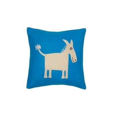 Donkey Wool Throw Pillow