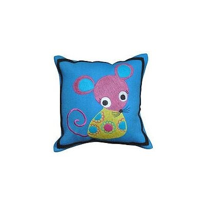Mouse Wool Throw Pillow