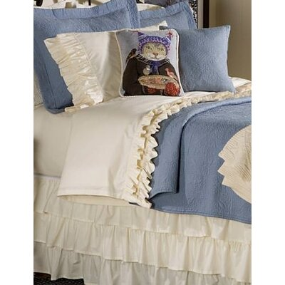 Double Ruffled 200 Thread Count Bed Skirt