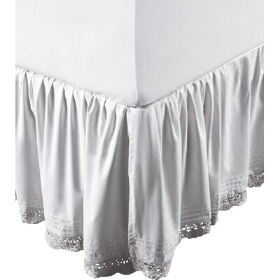 Bella 220 Thread Count Bed Skirt Size: Queen